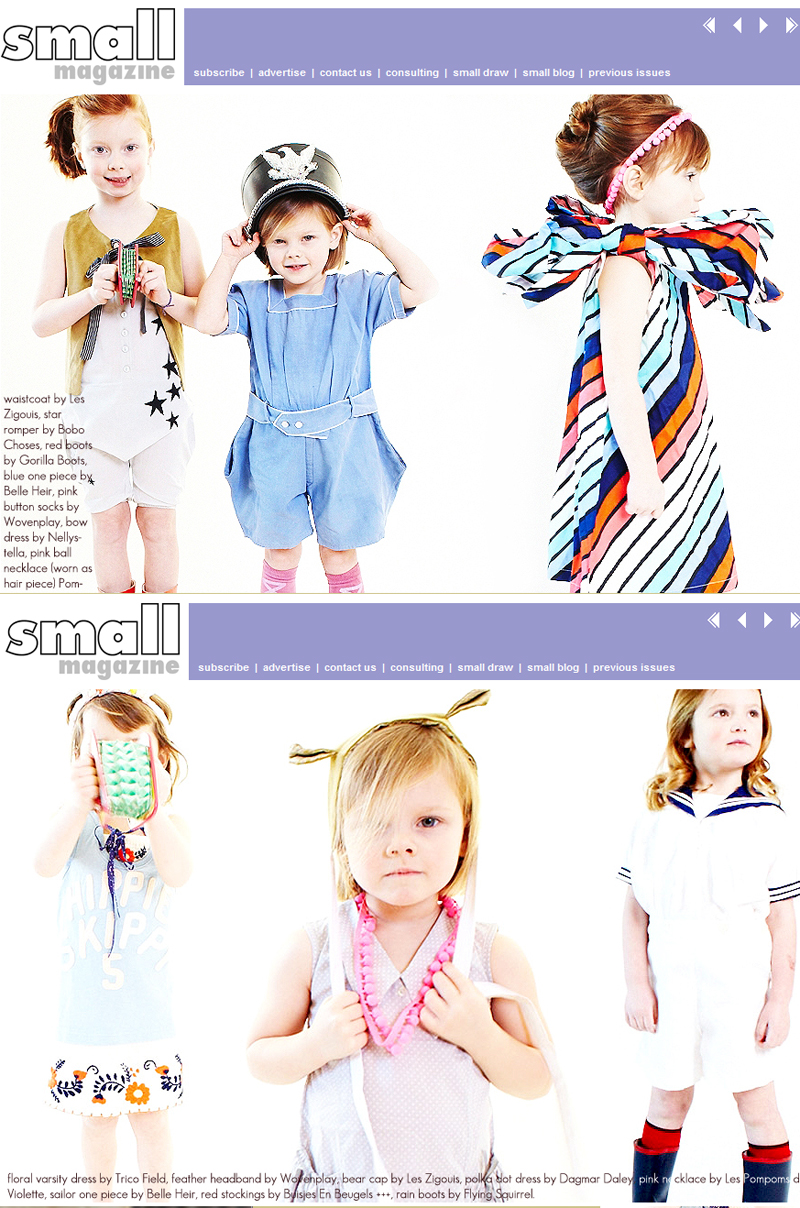 les zigouis in smallmagazine