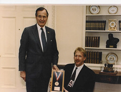Kevin with Pesident Bush in Oval #1 (KevinSaunders7) Tags: sports president explosion possible chairman obama nominees paralympics nominee motivationalspeaker paralympian nominated rolemodel kevinsaunders wheelchairathlete overcomingadversity businessspeaker schoolspeaker corporatespeaker christianspeaker motivationalcoach presidentsfitnesscouncil yeasyoucan wheelchairspeaker associationsspeaker inspirationalathlete famousdisabledathlete safetyspeaker corporatesafetyspeaker worldchampionwheelchairathlete fitnesscouncil chairmanoffitnesscouncil possiblenominees choicesforpresident considerationsforchairman presidentscouncilonphysicalfitnesssports presidentsselectionsforfitnesscouncil obamasfitnesscouncil