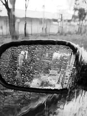 rainyreflex B&W (ix 2015) Tags: bw byn rain mxico mexico mirror reflex drops lluvia df ben spiegel gotas espejo reflejo miroir lateral bep israfel67 febreroloco madfebruary