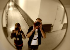 lens crafters (enjoythelittlethings) Tags: self canon mall fun mirror us hoodie montana mt sony watch stuart kristin hallway tiles 365 busted picnik studs billings awesomeness mallrats billingsmt rimrockmall