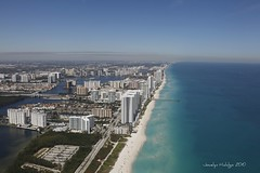 "Miami Beach (Joalhi ""Back in Miami"") Tags: beach view miami flight aerial cessna"