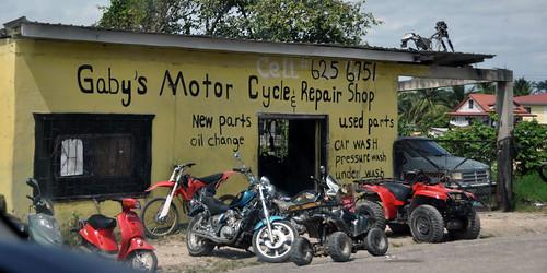 Gaby's Motor Cycle Repair Shop