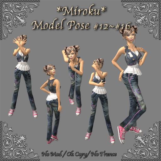 *Miroku*Model pose #12~#16
