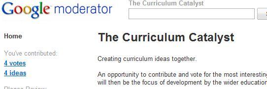 Curriculum Catalyst