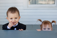 Justin & Alyson (phlezk) Tags: wedding cute kids photography texas charlie mcrae mckinney