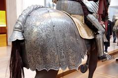 Crupper and saddle cantle plate (THoog) Tags: nyc newyorkcity newyork armor armour themet metropolitanmuseumofart armatura armadura armure rstung thoog