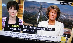 VIRGINIA TRIOLI TALKS TO JULIE BISHOP