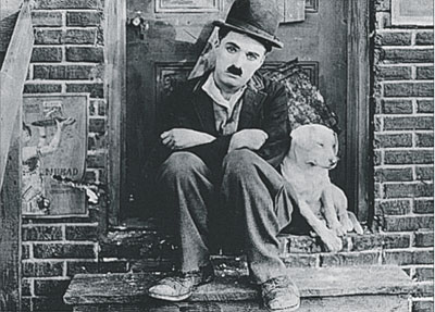 CA94~Charlie-Chaplin-in-A-Dog-s-Life-Posters