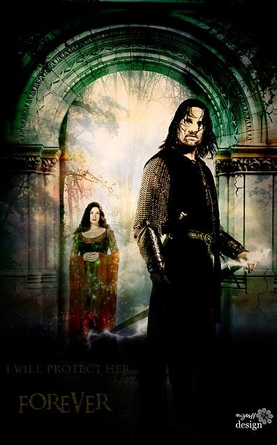 Aragorn & Arwen by Nick F.F // Nizer F.F // Pee Lasseps