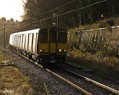 313046 at Oakleigh Park (Bill  M) Tags: electric train track br engine railway trains emu locomotive britishrail class313 oakleighpark 313046