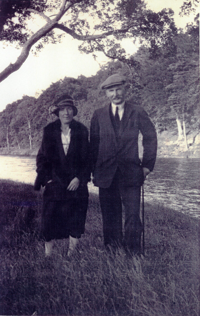Mr & Mrs Robert Creaney, 1940.