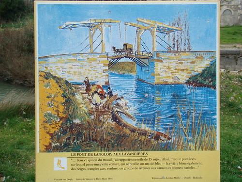 Arles_梵谷的吊橋