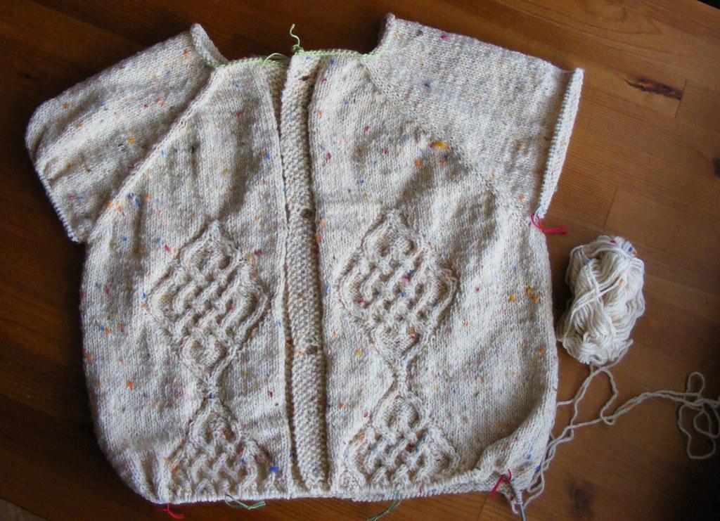 sweter na lenia
