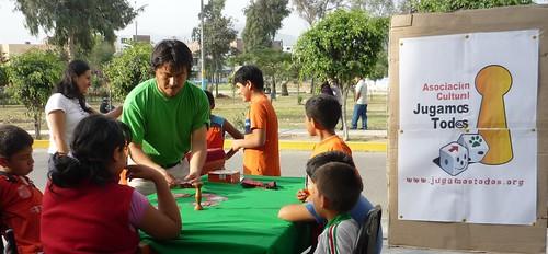 Centro cultural Crescendo (Perú) en convenio con la Jugamos Tod@s (España)