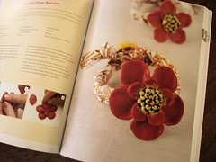Resin Clay Flower Bracelets