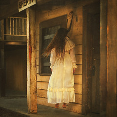 the trials (brookeshaden) Tags: girl town gallery christine diana western opening braid pinto march12 godo ladybugrock brookeshaden texturesbylesbrumes