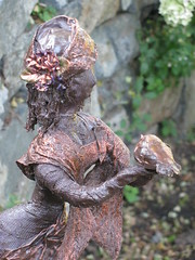 Garden Sculpture (maureenlafleche) Tags: sculpture woman art girl garden workshop gardenart gardensculpture gardenspirits ritawildschut gardenspiritssculpture gardenspiritssculptureworkshop