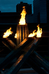 Olympic Cauldron (the PhotoPhreak) Tags: winter vancouver whistler fire symbol flame olympic cauldron 2010 paralympic