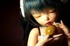 Miniature Weekly:: Week 28 (shinzai) Tags: miniature doll leah small tiny bjd weekly fairyland lychee littlefee