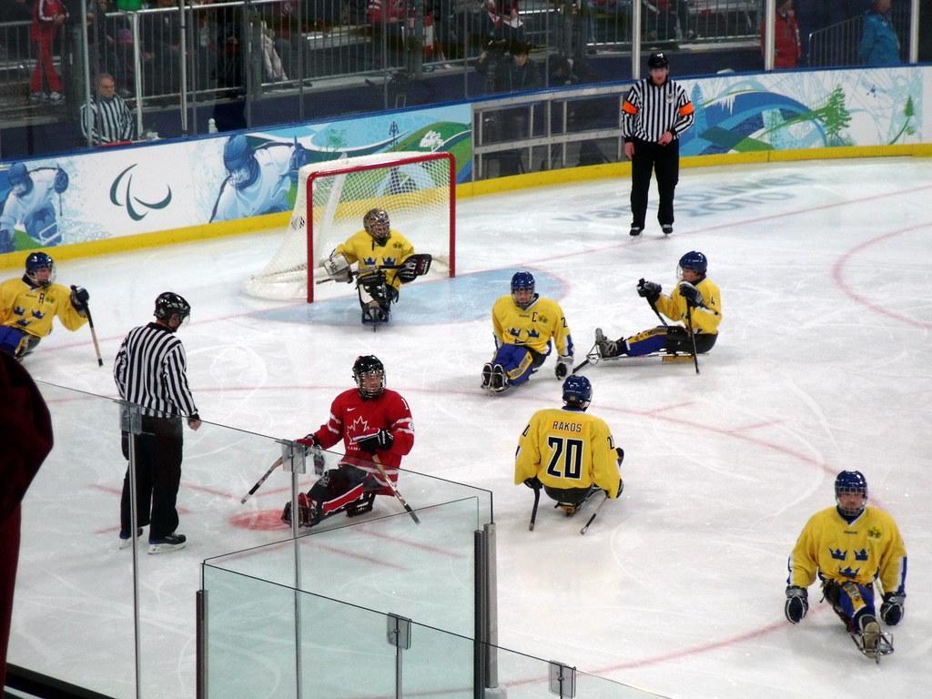 Sledge Hockey (Paralympic) Canada vs Sweden