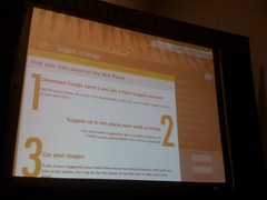 Dries shows #drupal used for a Mars website #sxsw #ripcontentmanagement #Space