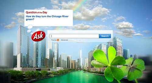 St. Patrick's Day at Ask.com