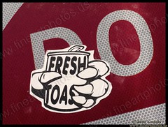 do fresh toast (chuckmoody) Tags: streetart sign graffiti sticker freshtoast