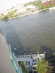 View from our hotel in Bangkok, Thailand 2010 (jano deb) Tags: thailand bangkok chaophrayariver