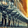 Standing in a row (Violet Kashi) Tags: bar restaurant pub nikon bokeh row depthoffield explore wineglass frontpage d90