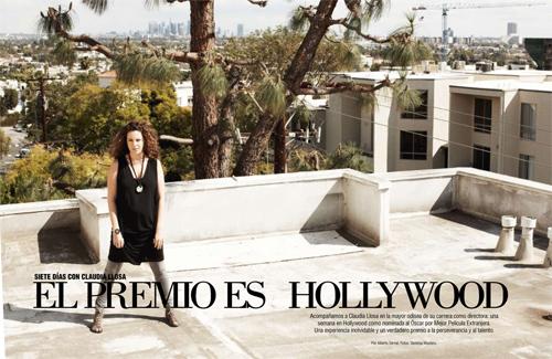 Claudia Llosa en revista Cosas