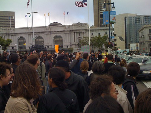 sf gay marriage crowd