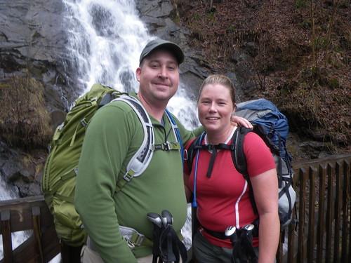 Chris & Misti @ Amicalola Falls