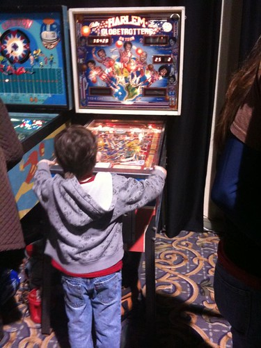 of all the machines he could be playing