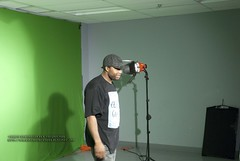 Shooting the Video: Keron