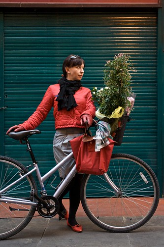 Ania & Flowers Cycle Chic
