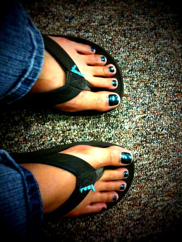 St. Paddys Day Nailart For Toes pedicure