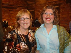 Elizabeth May and Emma Hogbin