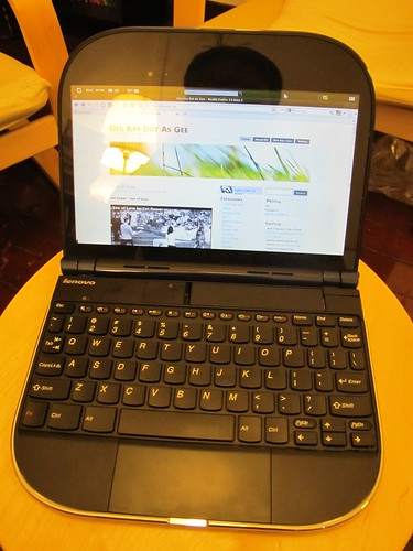 Lenovo Skylight Smartbook Hands-on