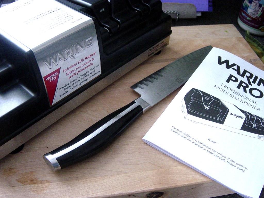 Waring Knife Sharpener