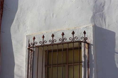 Ironwork at San Xavier Mission