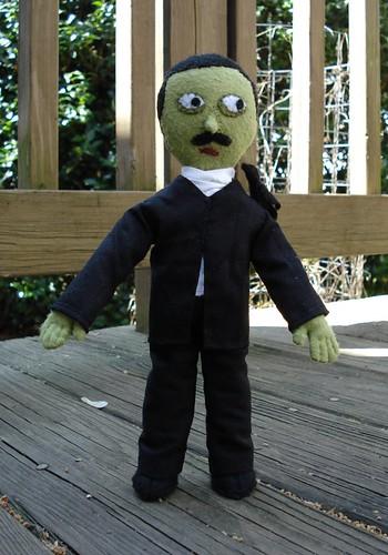 Zombie Poe plush