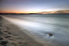 One step away (CResende) Tags: longexposure sunset sea seascape praia beach nikon angola longaexposio d90 sigma1020 barradodande hitechfilters cresende