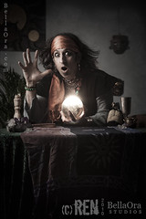 Fortune Teller (Ren (photo)) Tags: man future gypsy fortuneteller crystalball