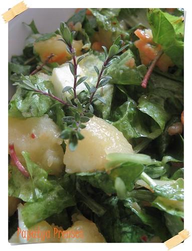 yeşil patates salatası