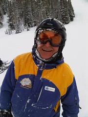 Powder Day at SSV (Taylor and Kevin) Tags: sunshine sunshinevillage snowhost