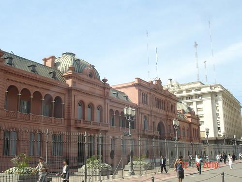 Lugares turísticos en Argentina, La Casa Rosada