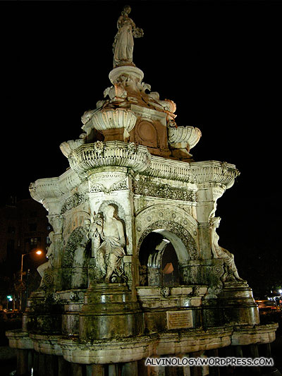 A beautiful old fountain