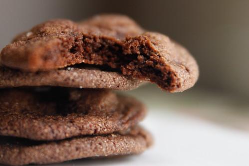 chocolate gingerbread bite