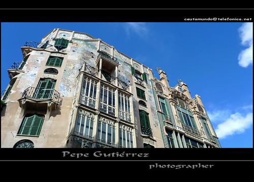 PALMA DE MALLORCA (17)  Edificio modernista