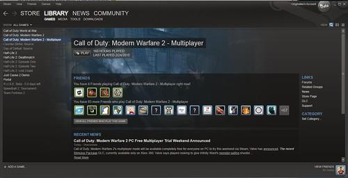 Call of Duty Modern Warfare 2 PC Multiplayer NEMOKAMAI!